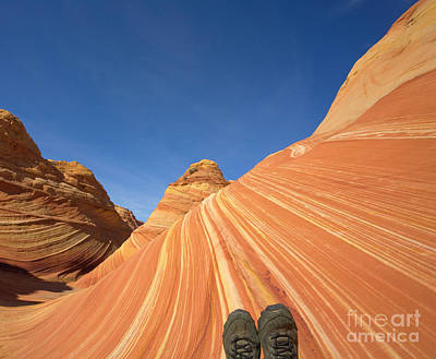 Tired Hiker Paria Wilderness Arizona Poster