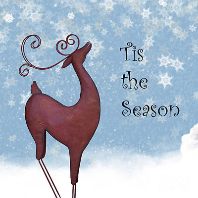 Tis The Season Poster by Juli Scalzi