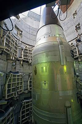 Titan Missile In Silo Poster by Jim West
