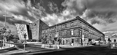 Titanic Building And Former Harland And Wolff Drawing Offices Poster