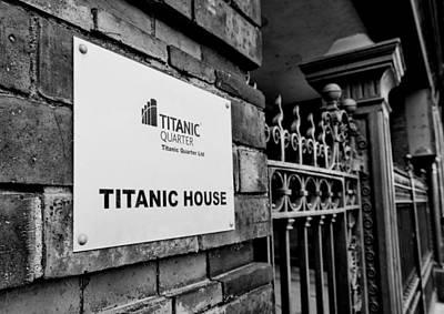 Titanic House Poster