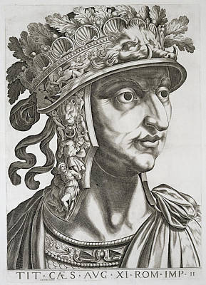 Titus Caesar , 1596 Poster by Italian School