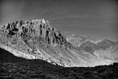 Titus Canyon Peak Poster
