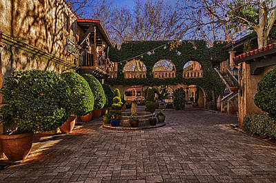 Poster featuring the photograph Tlaquepaque Village No.1 by Mark Myhaver