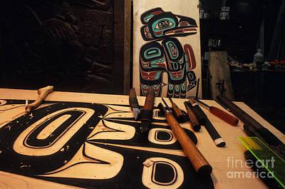 Tlingit Workshop Poster by Ron Sanford