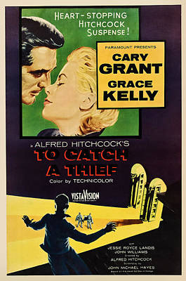 To Catch A Thief, Us Poster Art Poster