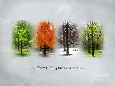 To Everything There Is A Season Poster