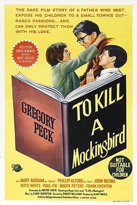 To Kill A Mockingbird -  1962 Poster