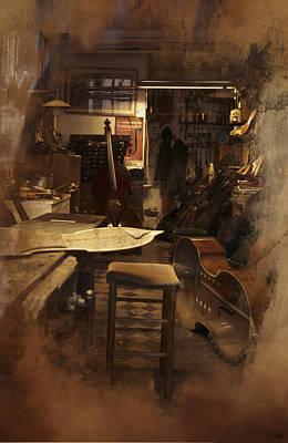 Tobacco Cello Poster