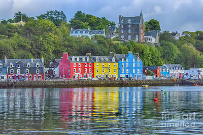 Tobermory Isle Of Mull Poster