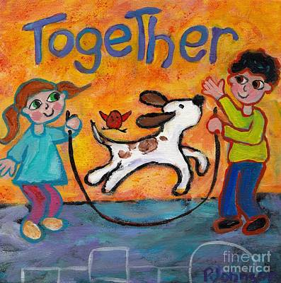 Together Poster by Peggy Johnson