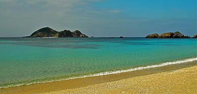 Aharen Beach, Tokashiki-jima, Okinawa Poster by Jocelyn Kahawai