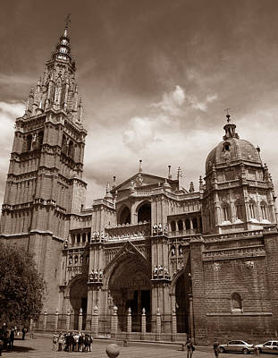 Toledo Cathedral Poster