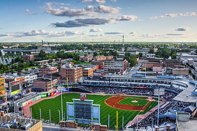 Toledo Mud Hens Home Game Poster by Joshua Ball