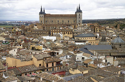 Poster featuring the photograph Toledo Spain Cityscape by Nathan Rupert