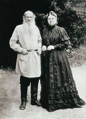 Tolstoy, Lev Nikolayevich, Leo Poster by Everett