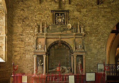 Tomb Of Richard Boyle1566 - 1643, First Poster by Panoramic Images