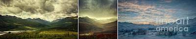Tombstone Range Seasons Poster by Priska Wettstein