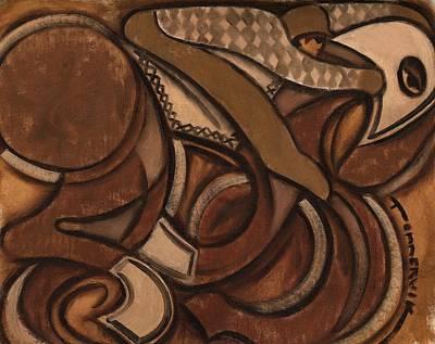 Tommervik Abstract Racehorse Art Print Poster