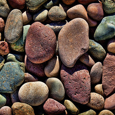 Tones Of Stones Poster by Kelley King