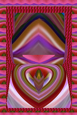 Tongue Twist Sensual Colorful Art Scratch Your Imagination  Poster by Navin Joshi