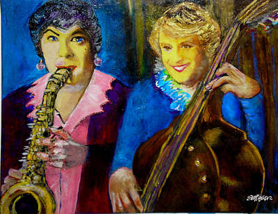 Tony And Jack-some Like It Hot Poster by Seth Weaver