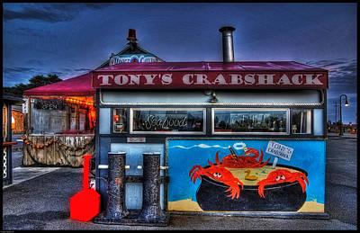 Tonys Crabshack Poster by Thom Zehrfeld