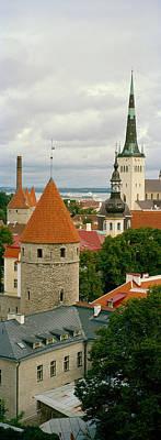 Toompea View, Old Town, Tallinn, Estonia Poster