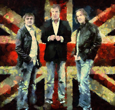 Top Gear Lads Poster