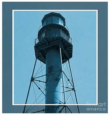 Poster featuring the photograph Top Of Sanibel Island Lighthouse by Janette Boyd