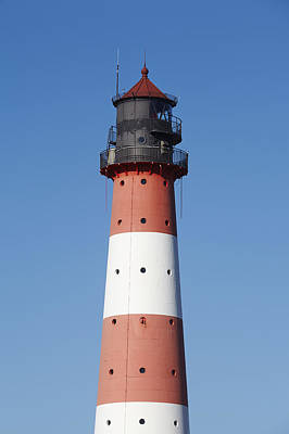 Top Of The Lighthouse Westerhever Poster