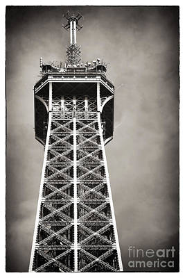 Top Of The Tower Poster by John Rizzuto