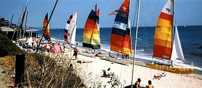 Topanga South Yacht Club Malibu Poster