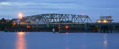 Topsail Island Bridge Poster