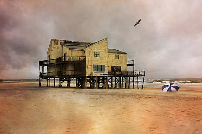 Topsail's Past II Poster by Betsy Knapp