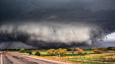 Tornado Day Poster by Sean Ramsey