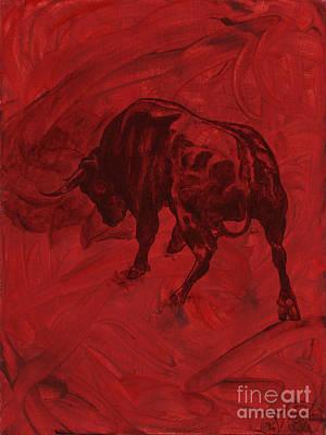 Toro Painting Poster