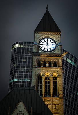 Toronto Old City Hall Tower Poster