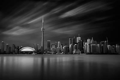 Toronto Skyline - 8 Minutes In Toronto Poster