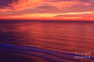 Poster featuring the photograph Torrey Pines Twilight by John F Tsumas