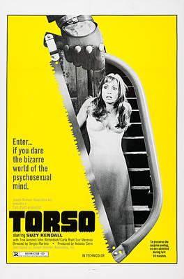 Torso, Aka I Corpi Presentano Tracce Di Poster by Everett