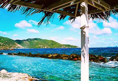 Tortola Cabana Poster