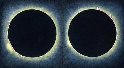 Total Solar Eclipse Poster by Collection Abecasis