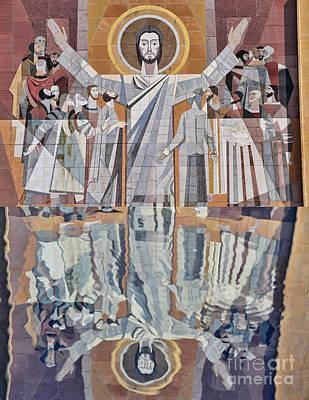 Touchdown Jesus Poster