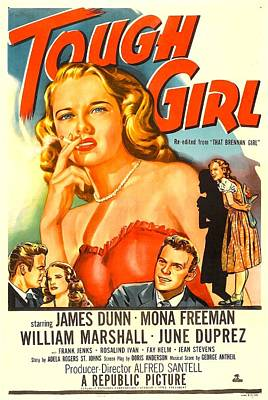Tough Girl, Aka That Brennan Girl, Us Poster