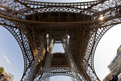 Tour Eiffel 4 Poster by Art Ferrier