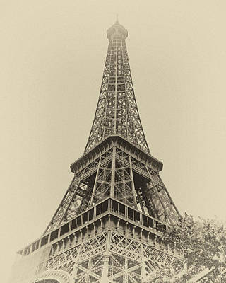 Tour Eiffel Poster by Nikolyn McDonald