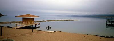 Tourist Resort On The Beach, Lake Poster