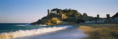 Tourist Resort On The Beach, Tossa De Poster