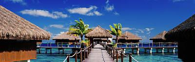 Tourist Resort, Tahiti, French Polynesia Poster